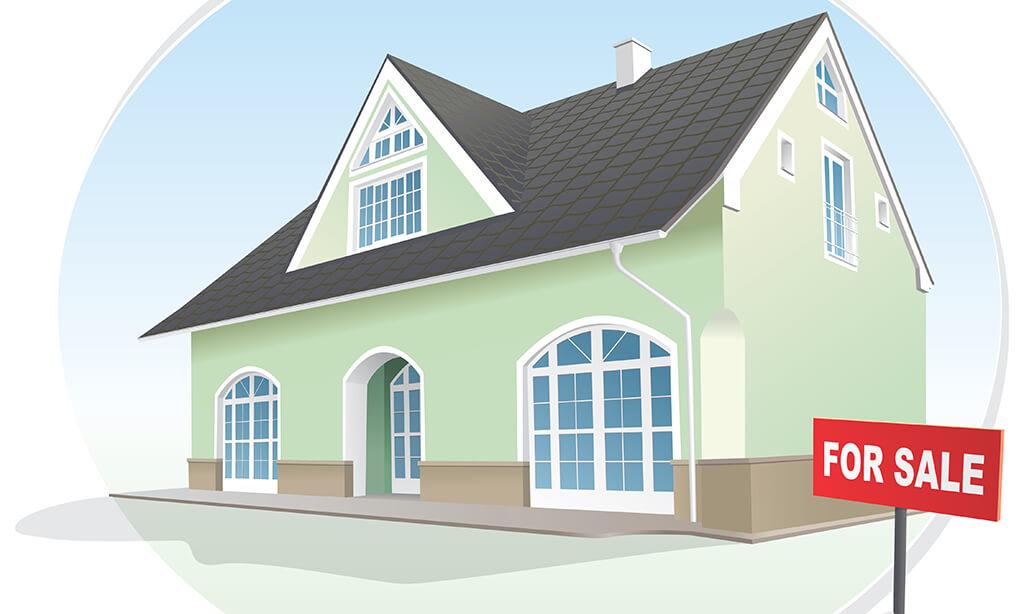 Homes nestled in Goodyear